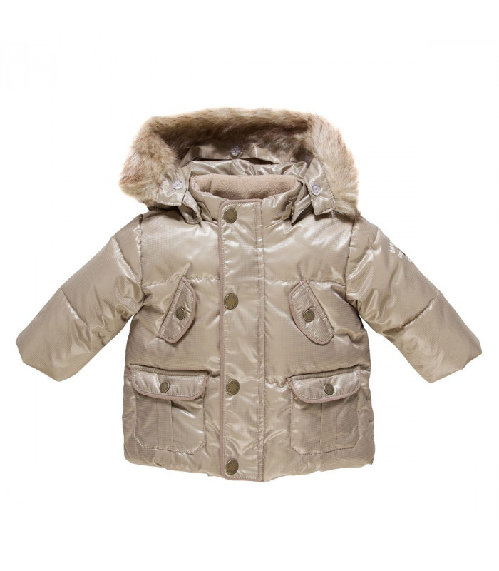 Stylish girl's padded jacket