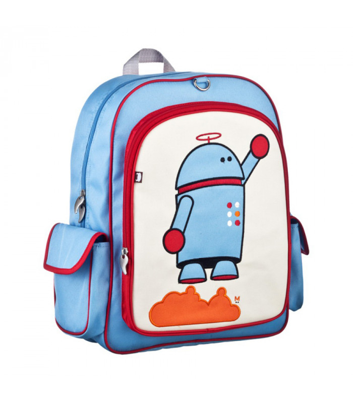 School robot backpack