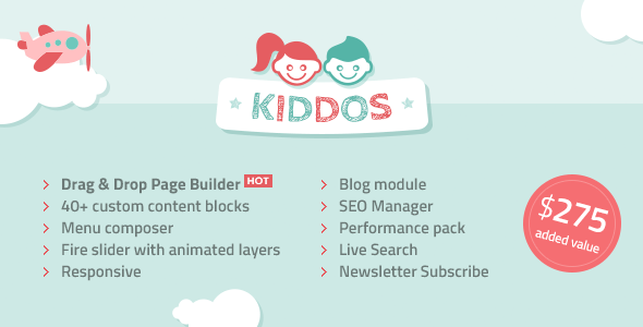 Kiddos - Hand Crafted Kids OpenCart Theme - OpenCart Community